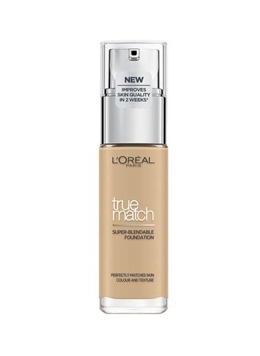 L'Oréal Paris True Match 3N Numara Creamy Beige Bakım Yapan Fondöten Renksiz
